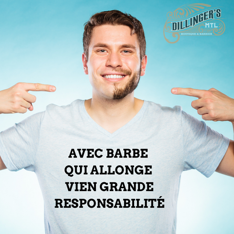 barbe qui allong vien grand responsablilité