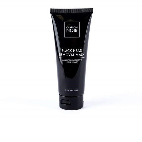 black mask charbon noir