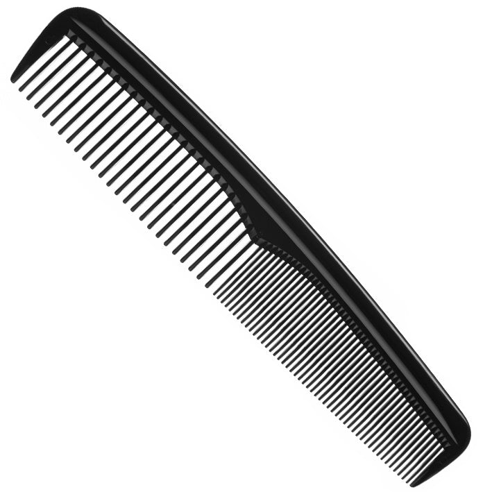 Black Comb Hair and Beard