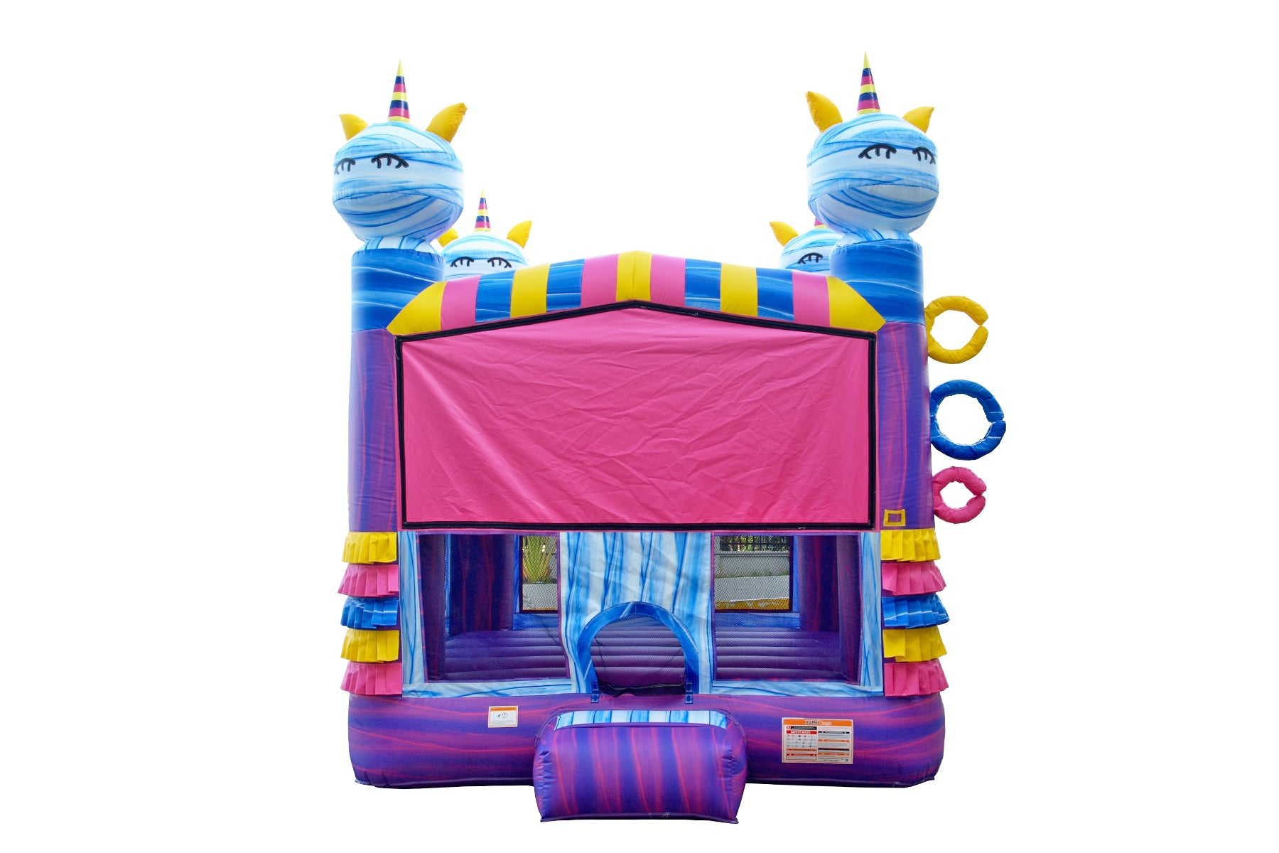UNICORN 13' X 13' BOUNCE HOUSE