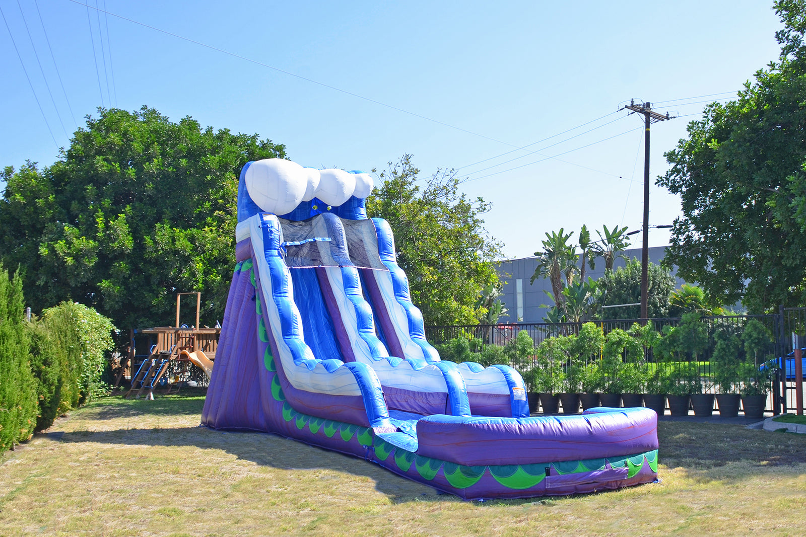 19 FT MERMAID SLIDE