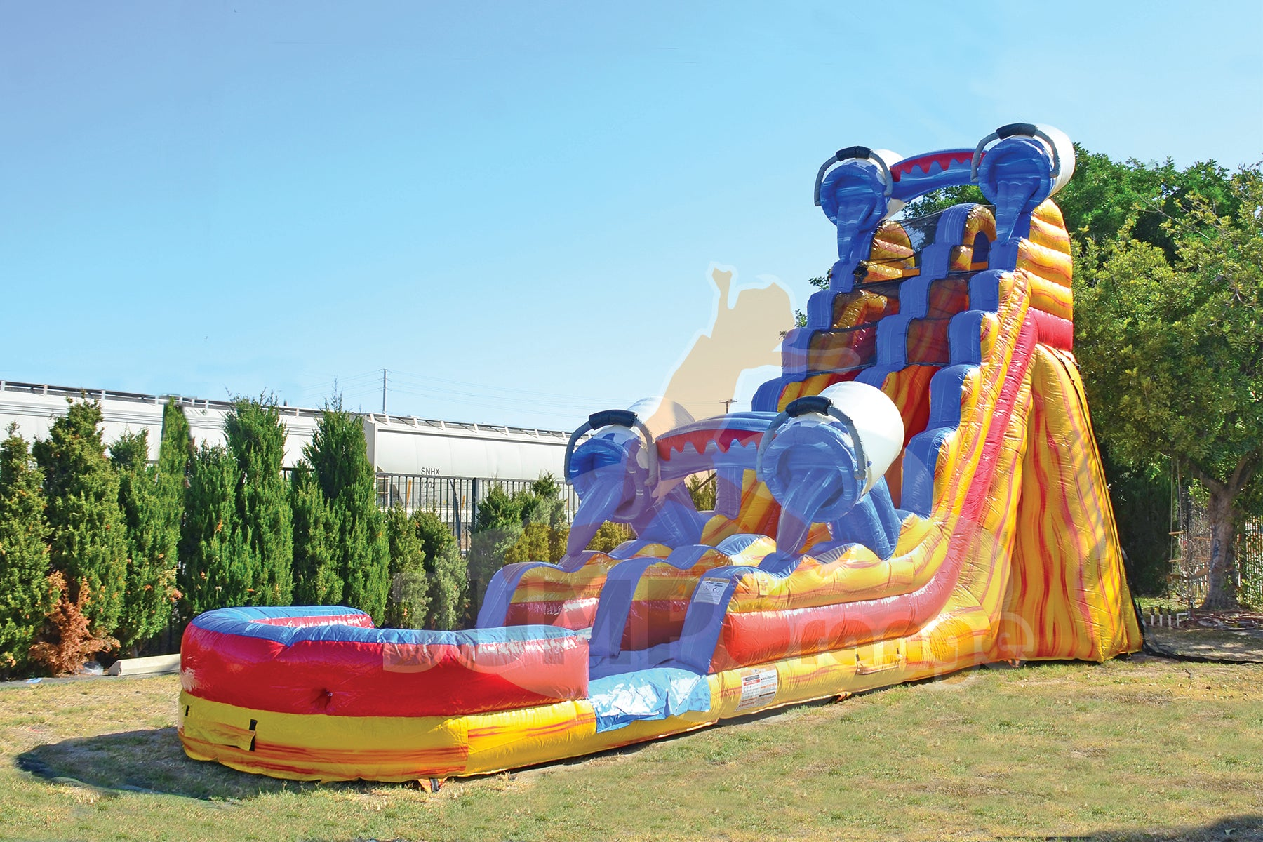 SPLASH 21 FT SLIDE
