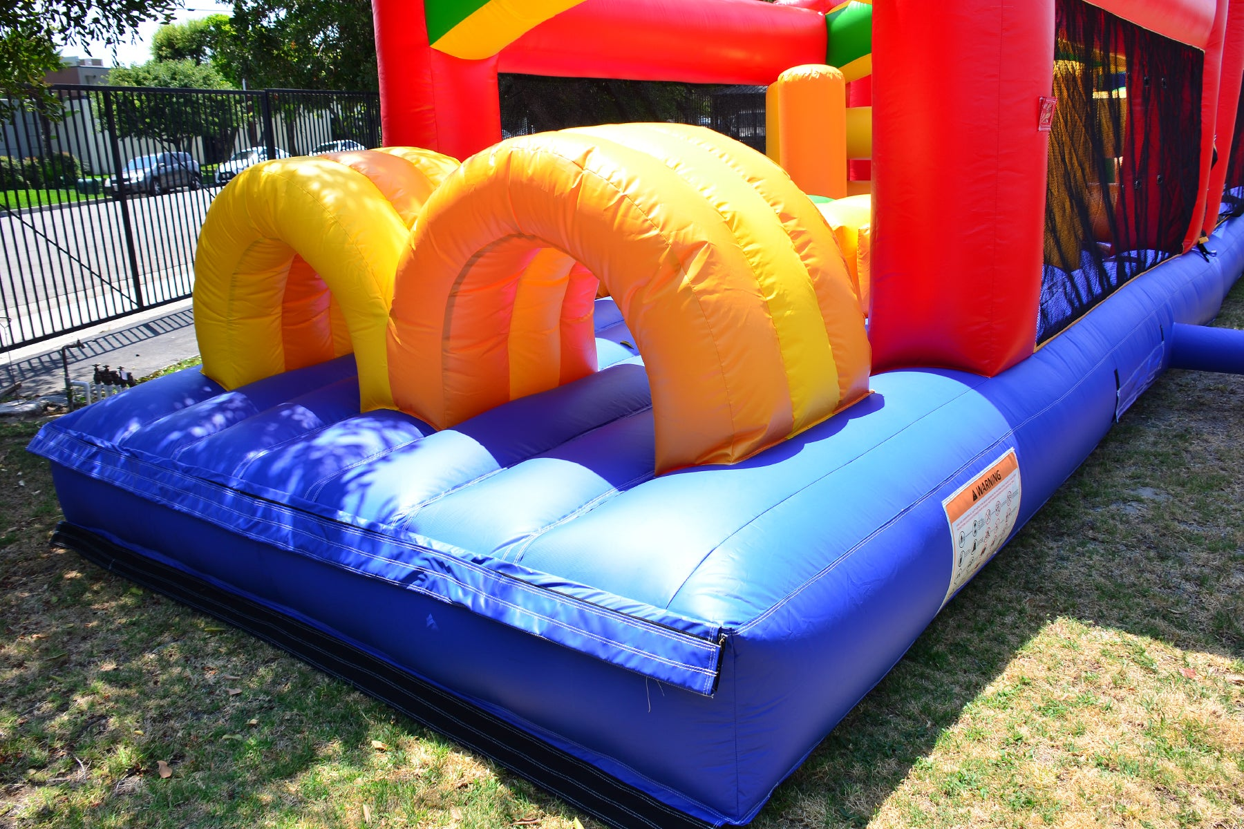40 FT RAINBOW MEGA OBSTACLE COURSE