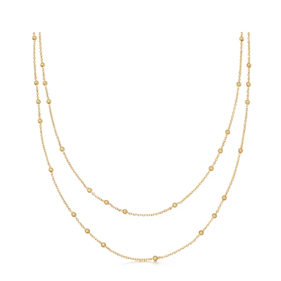 GOLD DOUBLE CHAIN