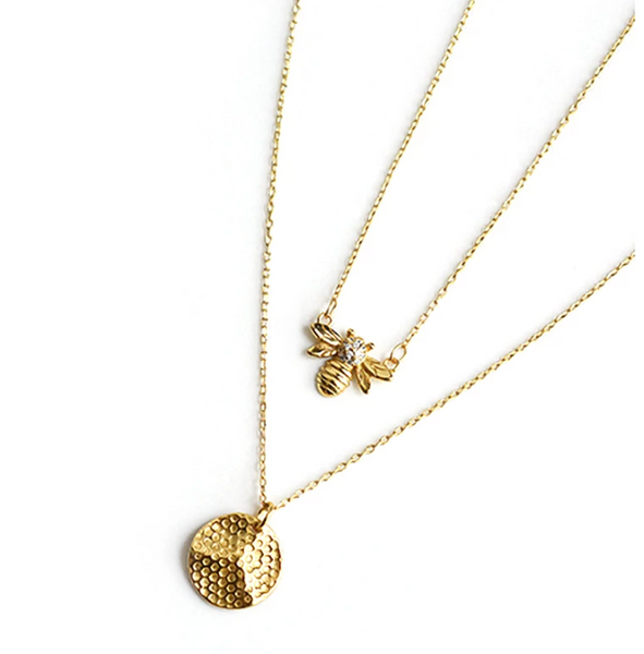 Queen B Necklace