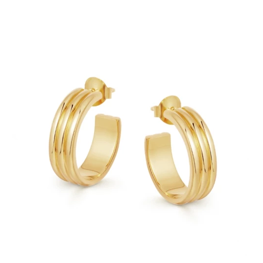 GOLD ANCIEN HOOPS
