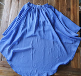 ALL ABOUT EVE Angie Blue Skirt Size 10 - RRP $59.95