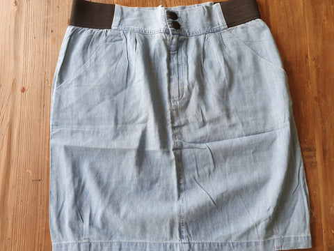 ALL ABOUT EVE Denim Skirt Size 10 - BNWOT