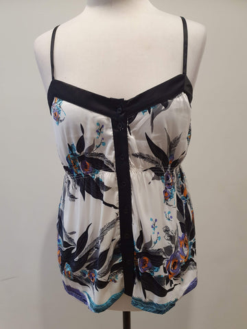 ALL ABOUT EVE Madison Singlet Top Size 10 & 14 - RRP $69.95