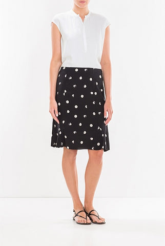 TRENERY Stamp Spot Frills Skirt s18