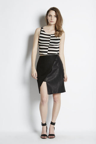 FINDERS KEEPERS Black 'Around the World' Skirt Size XS, S & M