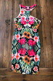 BLOSSOM Croatia Floral Dress Size 6