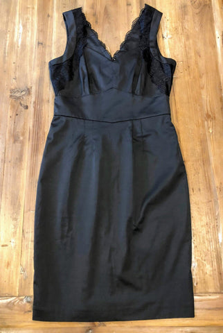 H & M Black Dress Size 8