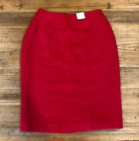 NEXT Red Skirt Size 8