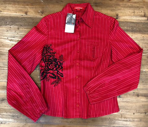 XX by MEXX Flame Red Shirt Size 38 M