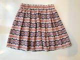 DOTTI Tribal Pattern Skirt Size 10