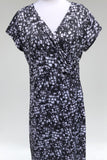 INSPYR Black and White Signature Geo Print  Dress, Size 14