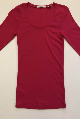 COUNTRY ROAD Vibrant Pink 1/2 sleeve Tee, Size XXS