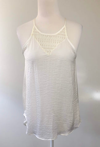 NORDSTROM RACK White Tail Top Size S