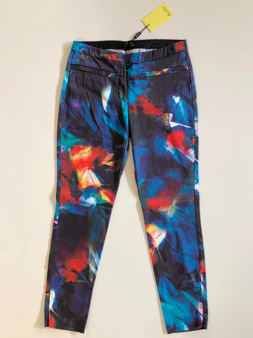 BARDOT Abstract Print Pants Size 8
