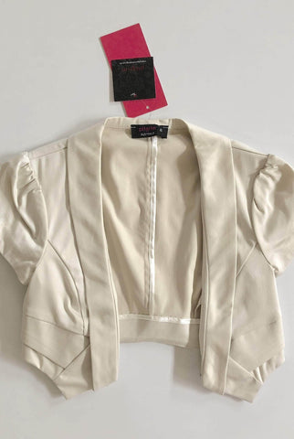 PILGRIM Oyster 'Evening Bliss' Crop Jacket Size 6