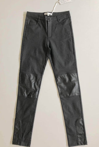 LOLA VS HARPER Black Dreams Wax PU Pants Size XS, S, M & L