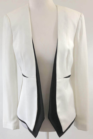SEDUCE White & Black Jacket Size 8, 10 & 12