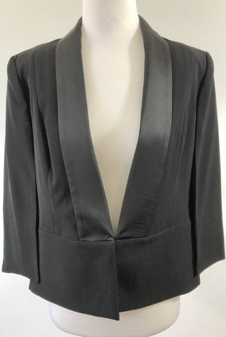 SEDUCE Black Split Sleeve Cape Size 8, 10 & 12