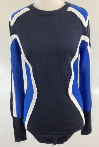 SEDUCE Blue Multi Jumper Size 8