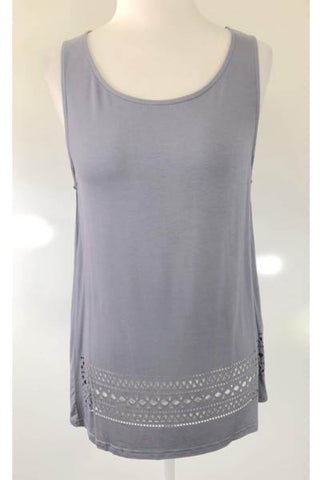 LOLA VS HARPER Dreams Laser Cut Tank Top Size S, M & L