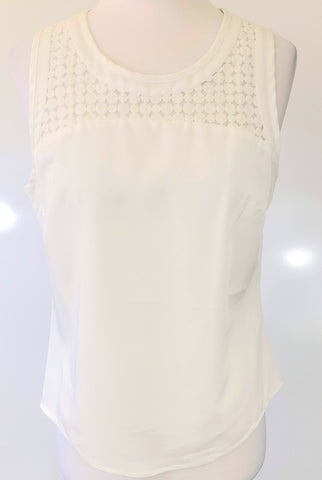 BLUEJUICE White Cami Top Size 8, 10 & 12
