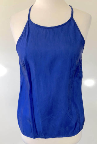 BLUEJUICE Blue Open Back Top Size 8, 10 & 12