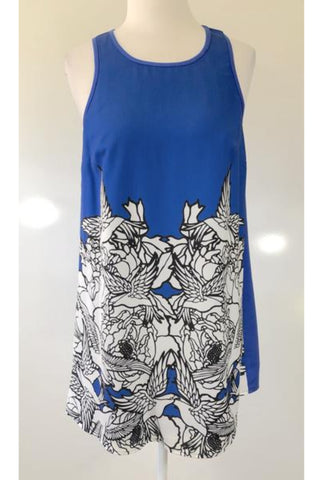 BLUEJUICE Blue Tunic Dress Size 8 & 10