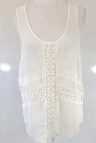 WISH White 'Allure' Tank Top Size 6, 8, 10, 12 & 14