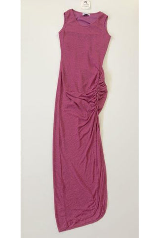MADISON SQUARE Purple Split Maxi Dress Size S, M & L