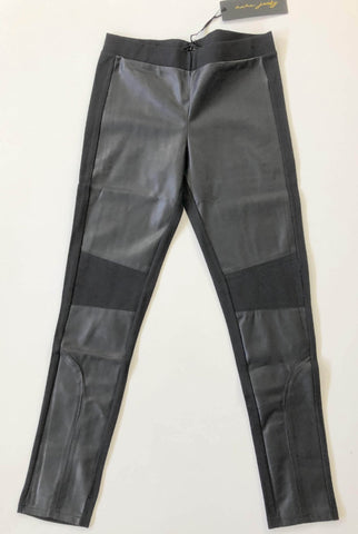NANA JUDY Black Faux Leather Pants Size 6, 8, 10 & 12