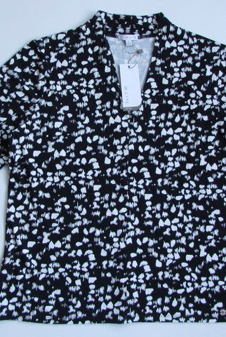 W.LANE Spot Pleat Top Size M