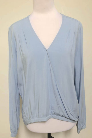 FRENCH CONNECTION Chambray Blouse Top Size 6, 8, 12 & 14