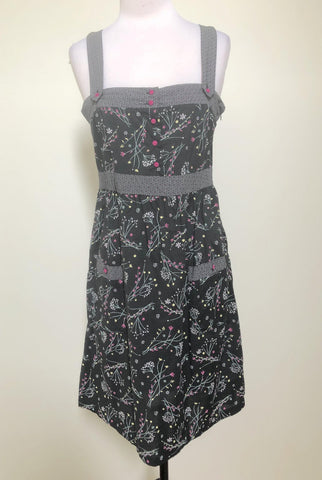 JUST ADD SUGAR Multi Floral Pocket Dress Size 10 & 12
