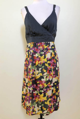 MISSY Navy Floral Citrus Bouquet Dress Size 8 & 12