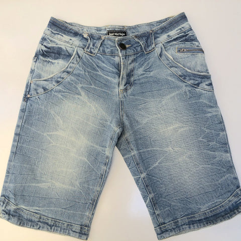 JUST ADD SUGAR Blue Rough Denim Shorts Size 10 & 12