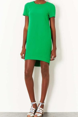 TOPSHOP Green Dress Size 6