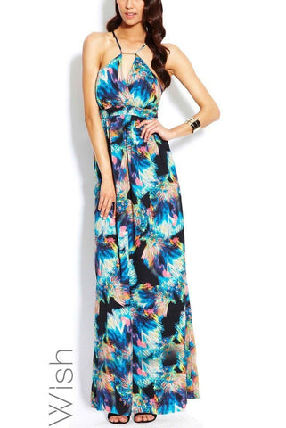 WISH 'Fireworks' Maxi Dress Size 6