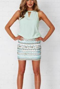 COOPER STREET 'Bombay' Beaded Skirt Size 6 & 10