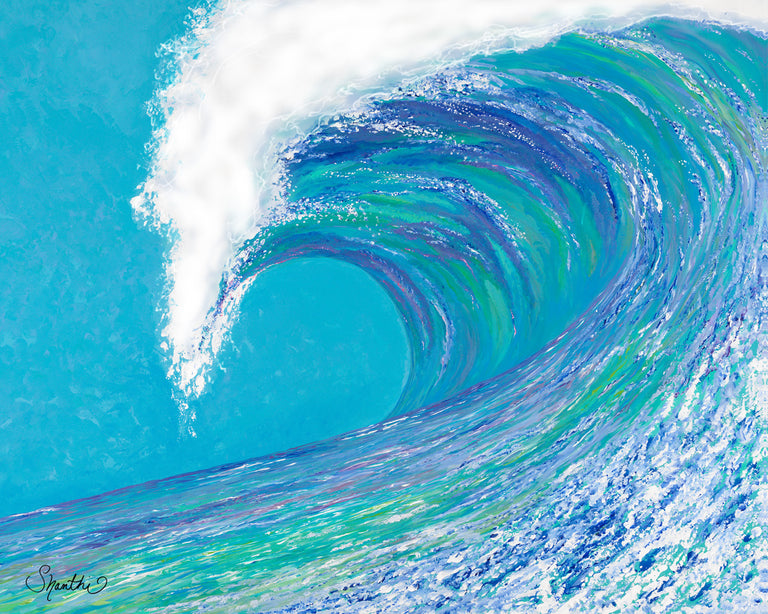 big wave, big waves, large waves, giant waves, wave painting, famouse, ocean wall art
