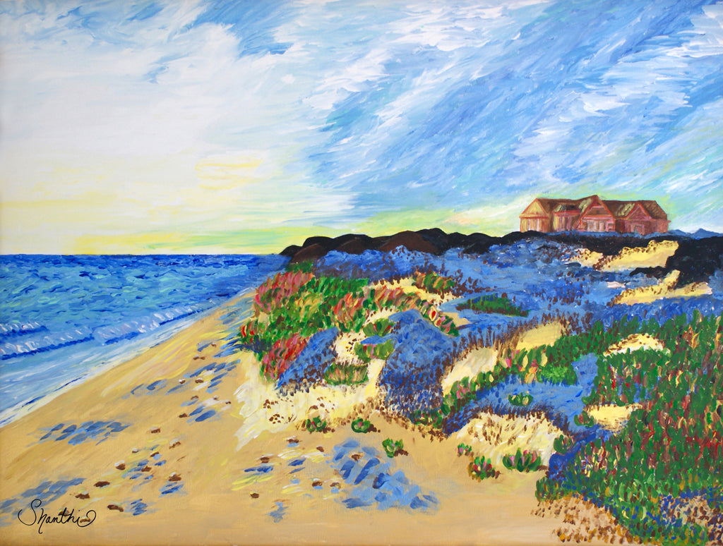 coastal carolina, impressionism, contemporary impressionists