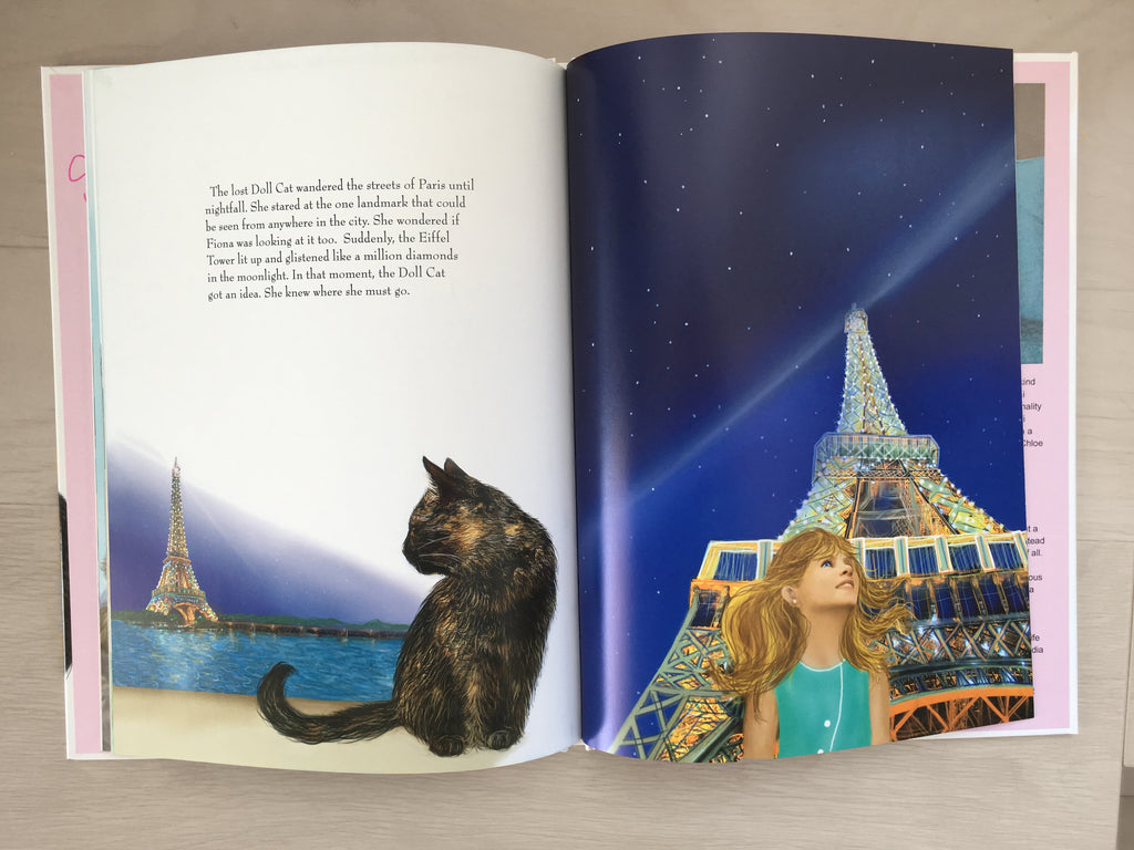 The Doll Cat Goes To Paris
