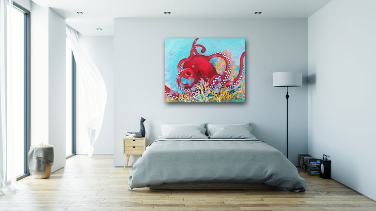 underwater animals, sea creatures, sea animals, pacific red octopus, octopus art, ocean animals, cool octopus