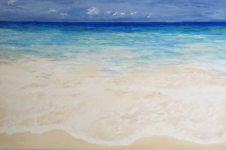 clear beaches, seascape art, seascape print, clearwater beach, clear blue water, calm water, Seaside style, By the beach decor, Sea beach theme