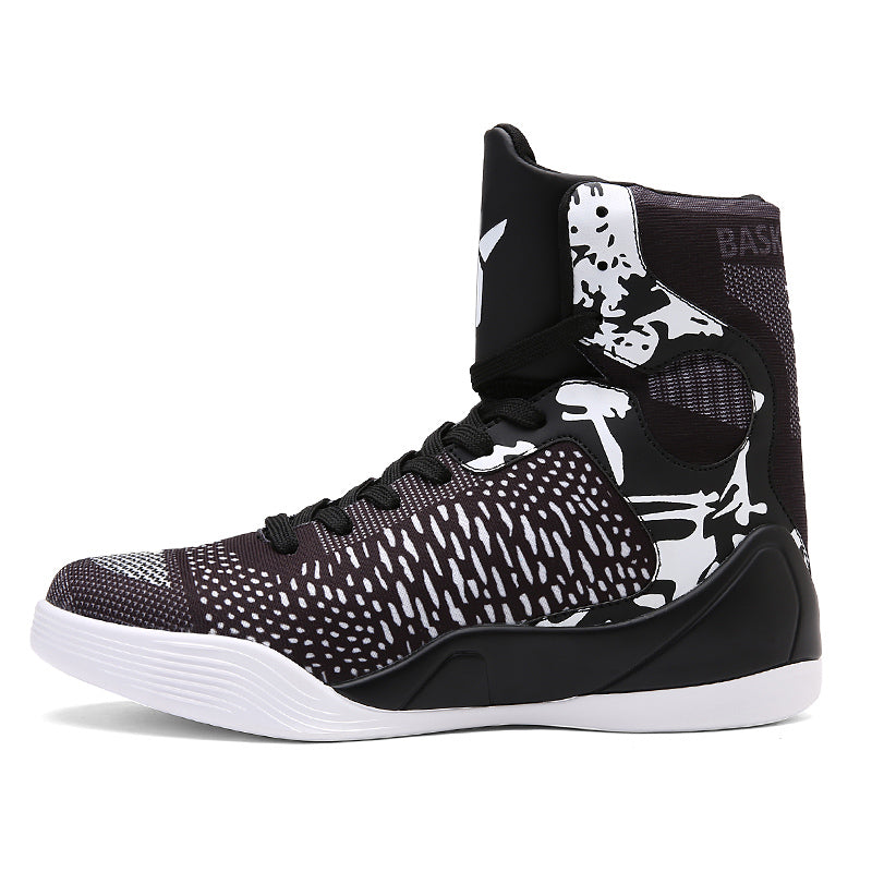 New 2017 High Top Sneakers Men Cool Basketball Shoes Men Bright Koby